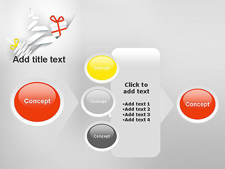 White Christmas Card PowerPoint Template Slide 17