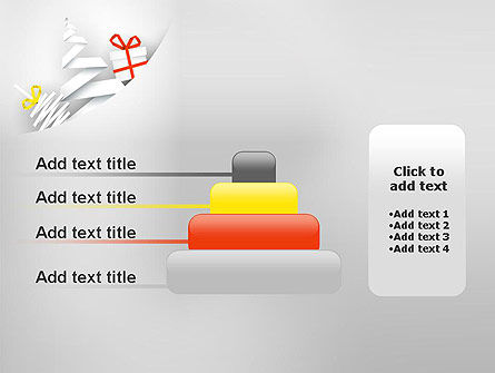White Christmas Card PowerPoint Template Slide 8
