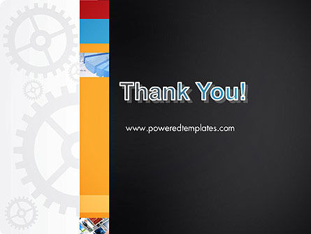 Gears Theme PowerPoint Template Slide 20