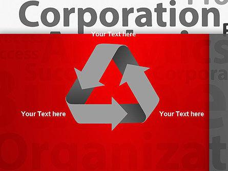 Corporation Analytics PowerPoint Template Slide 10