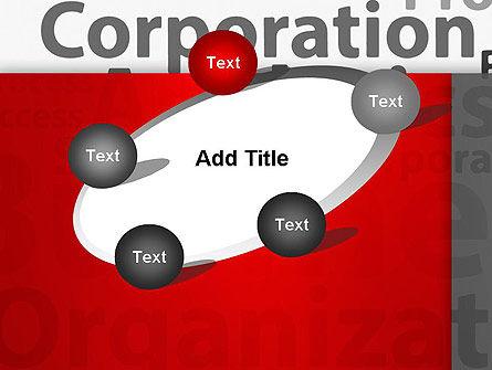 Corporation Analytics PowerPoint Template Slide 14