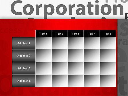 Corporation Analytics PowerPoint Template Slide 15