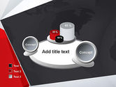 Globe with Geometric Layers PowerPoint Template#16