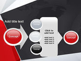 Globe with Geometric Layers PowerPoint Template#17