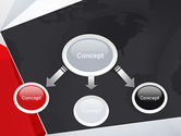 Globe with Geometric Layers PowerPoint Template#4