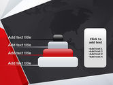 Globe with Geometric Layers PowerPoint Template#8
