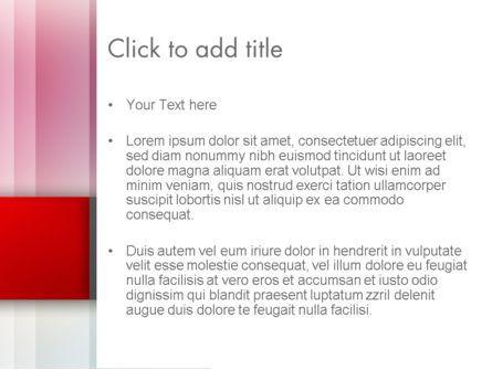 Pink Blur PowerPoint Template, Slide 3, 12778, Abstract/Textures — PoweredTemplate.com