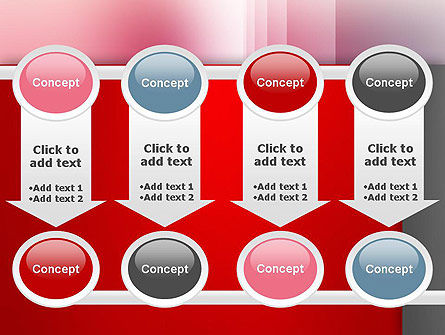Pink Blur PowerPoint Template Slide 18