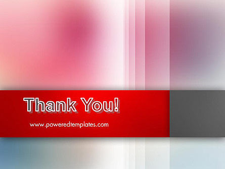 Pink Blur PowerPoint Template Slide 20
