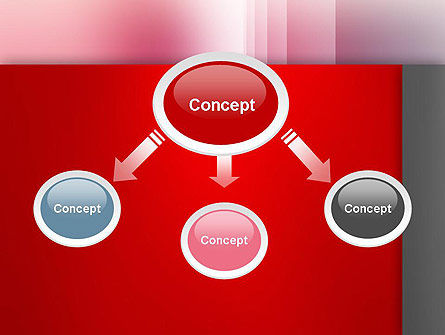 Pink Blur PowerPoint Template Slide 4