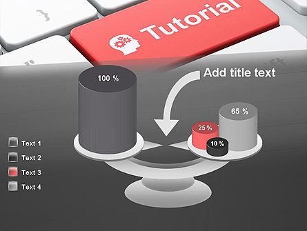Tutorial Button PowerPoint Template Slide 10