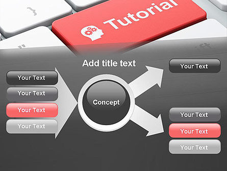 Tutorial Button PowerPoint Template Slide 14