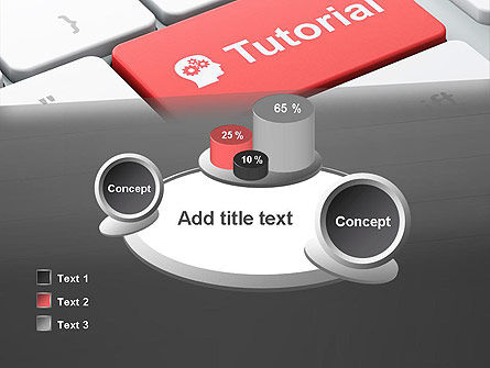 Tutorial Button PowerPoint Template Slide 16
