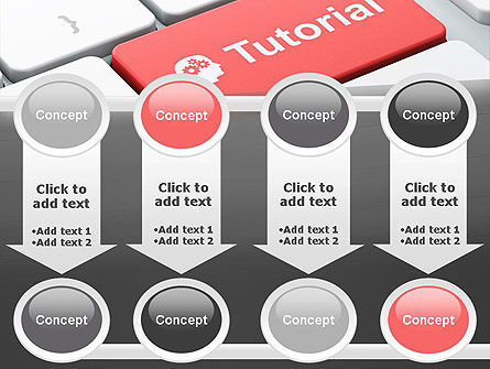 Tutorial Button PowerPoint Template Slide 18