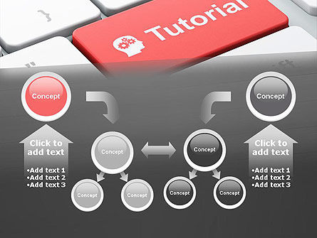 Tutorial Button PowerPoint Template Slide 19