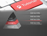 Tutorial Button PowerPoint Template#12