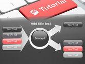 Tutorial Button PowerPoint Template#14