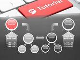 Tutorial Button PowerPoint Template#19