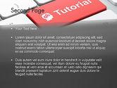 Tutorial Button PowerPoint Template#2