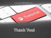 Tutorial Button PowerPoint Template#20
