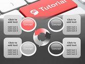 Tutorial Button PowerPoint Template#9