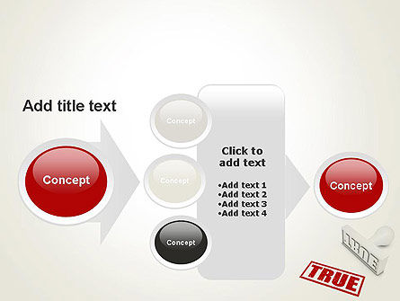 True Rubber Stamp PowerPoint Template Slide 17