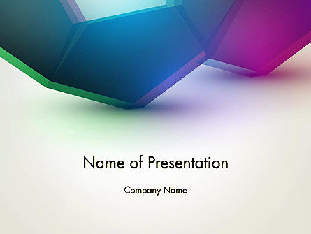 Abstract Objects PowerPoint Template, 12781, Abstract/Textures — PoweredTemplate.com
