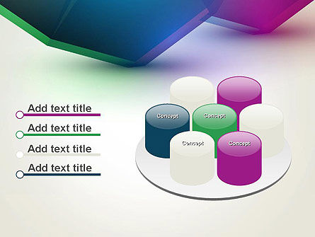 Abstract Objects PowerPoint Template Slide 12