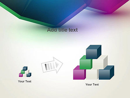 Abstract Objects PowerPoint Template Slide 13