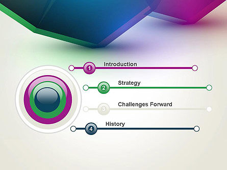 Abstract Objects PowerPoint Template Slide 3