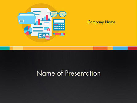 Accounting Icons PowerPoint Template