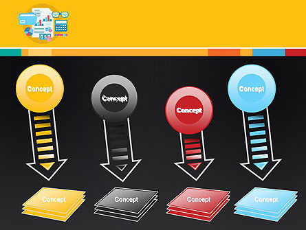 Accounting Icons PowerPoint Template Slide 8