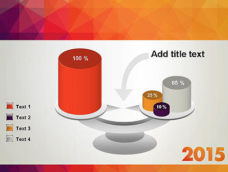 2015 in Modern Flat Style PowerPoint Template Slide 10