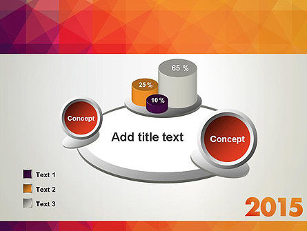2015 in Modern Flat Style PowerPoint Template Slide 16