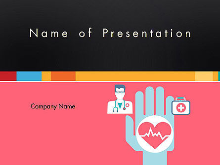 Medical: Templat PowerPoint Ikon Medis #12786