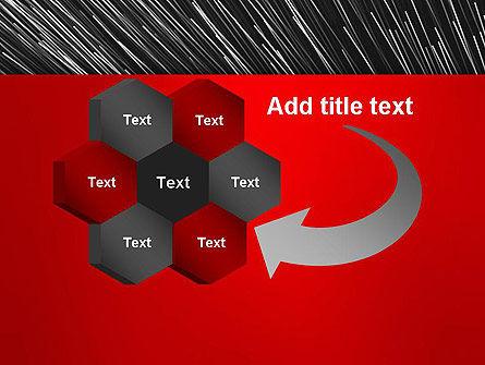 Moving Light Strings PowerPoint Template Slide 11