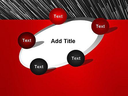 Moving Light Strings PowerPoint Template Slide 14