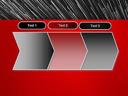 Moving Light Strings PowerPoint Template Slide 16