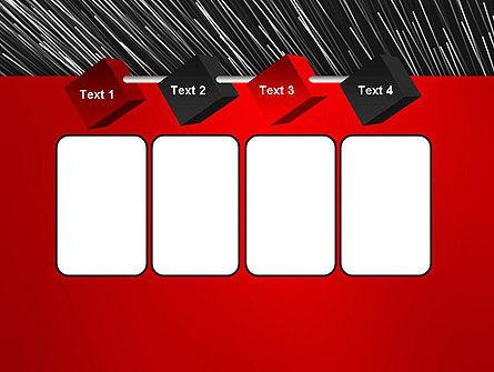 Moving Light Strings PowerPoint Template Slide 18