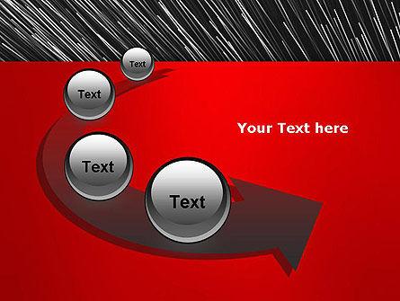 Moving Light Strings PowerPoint Template Slide 6