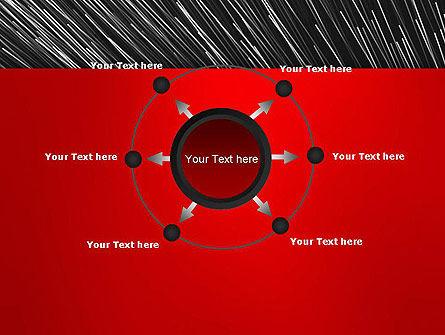 Moving Light Strings PowerPoint Template Slide 7