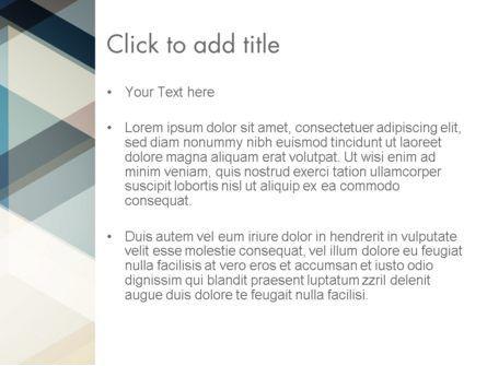 Geometric Transparent Rectangles PowerPoint Template, Slide 3, 12791, Abstract/Textures — PoweredTemplate.com