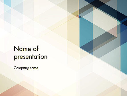 Abstract/Textures: Geometric Transparent Rectangles PowerPoint Template #12791