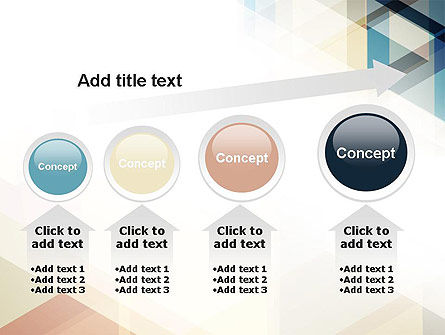 Geometric Transparent Rectangles PowerPoint Template Slide 13