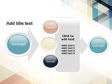 Geometric Transparent Rectangles PowerPoint Template Slide 17