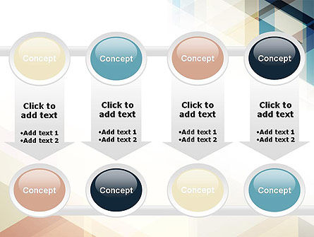 Geometric Transparent Rectangles PowerPoint Template Slide 18