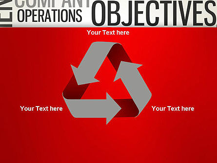 Objectives and Targets Word Cloud PowerPoint Template Slide 10