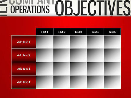 Objectives and Targets Word Cloud PowerPoint Template Slide 15