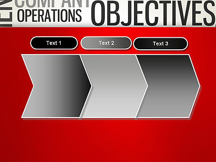 Objectives and Targets Word Cloud PowerPoint Template Slide 16