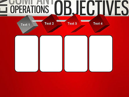 Objectives and Targets Word Cloud PowerPoint Template Slide 18